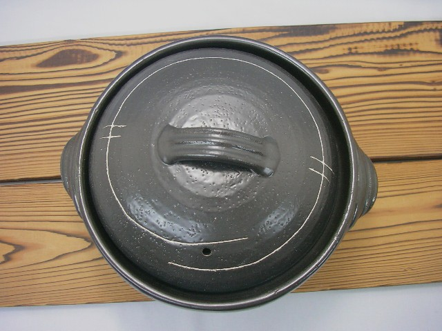 萬古焼 せきすいご飯鍋3合炊き