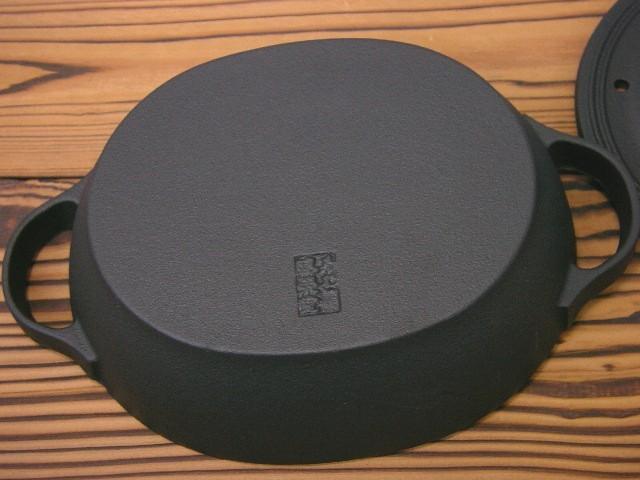 南部鉄器 クックトップ シチューパン(オーバル) CT-11
