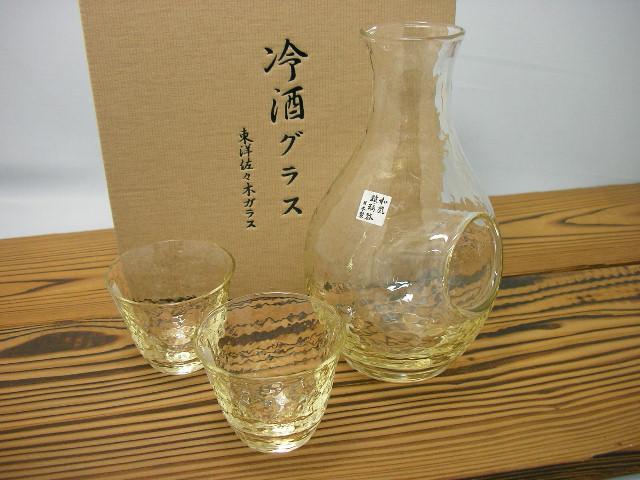 高瀬川 琥珀冷酒セット