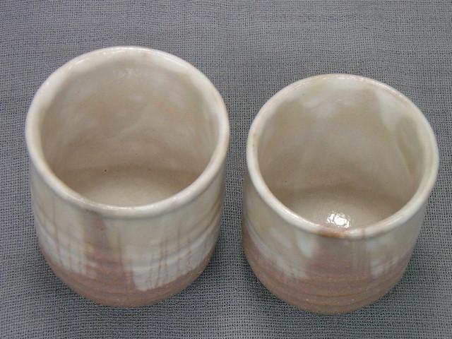 萩焼 銀灰組湯呑